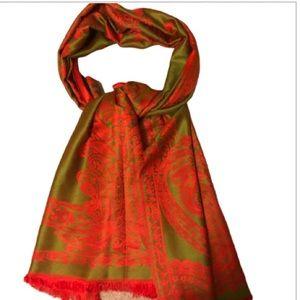 🇺🇸100% Pashmina reversible scarf/wrap